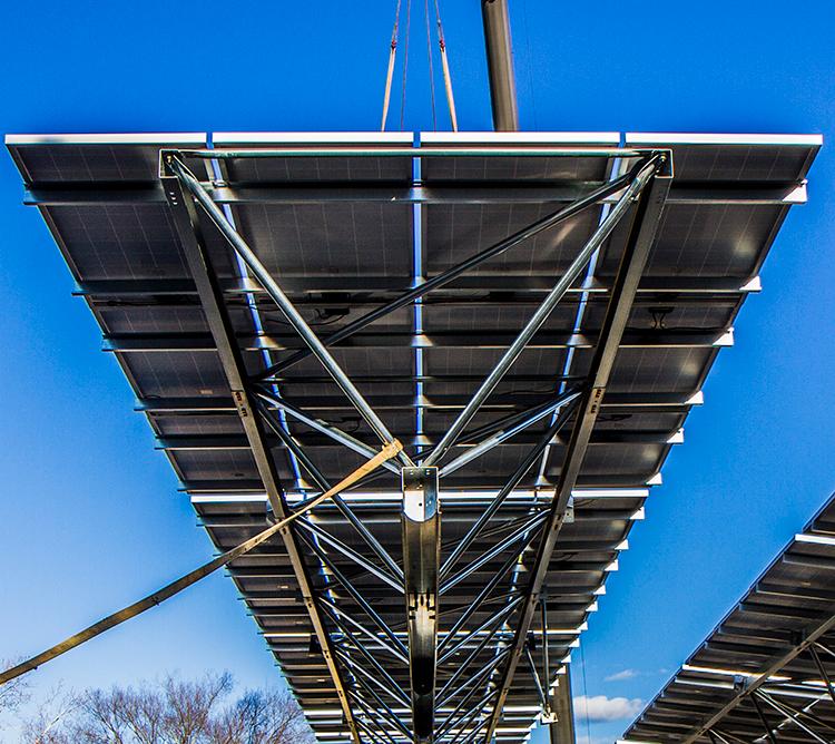 solar carport structures
