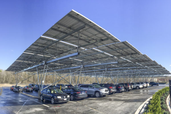 solar canopies for parking lots