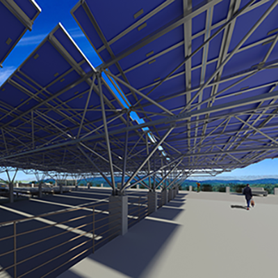 solar canopies for parking