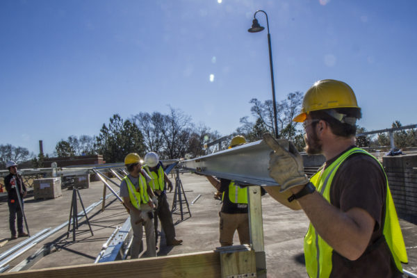 commercial solar carport structures
