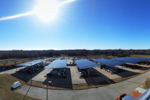 Quest Renewables Solar Carports