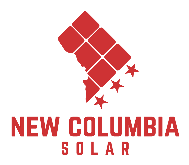 New Columbia Solar company logo