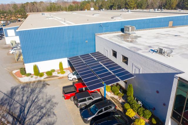 FAST Carport Quest Renewables